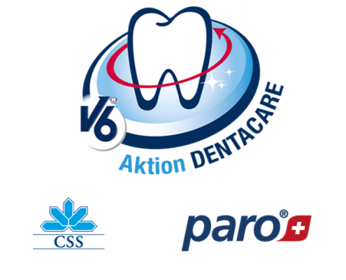 V6 DentaCare Aktion Logo für Blog